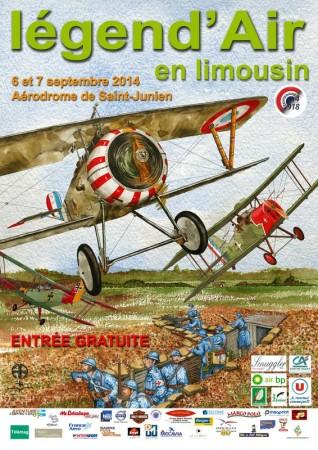 Affiche Legend'Air 2014