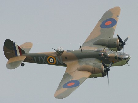 Le Blenheim à Duxford en 2002 (Photo I Wish I was Flying (CC BY-ND 2.0))
