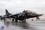 Un Harrier T.8 aux couleurs de la FAA britannique. (Photo I wish I was Flying (CC BY-ND 2.0))