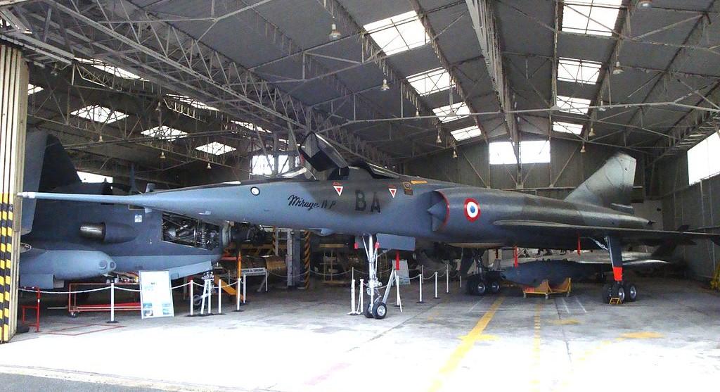 Le Mirage IVP n°28 de l'Espace Aéro Lyon Corbas. (Photo EALC (CC BY-SA 3.0))