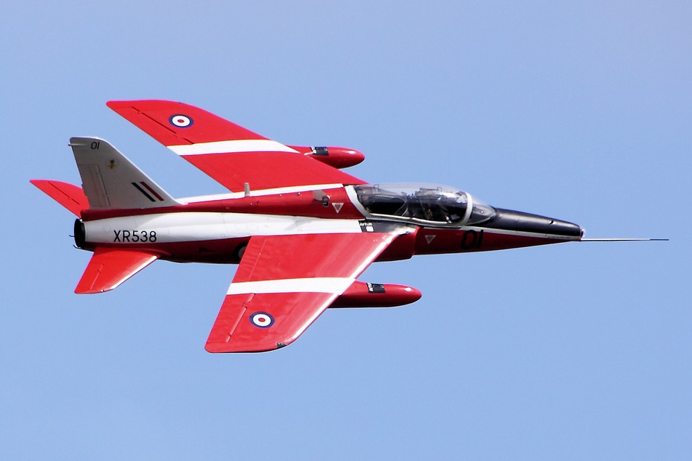 Le Folland Gnat T.1 XR538 (Photo Airwolfhound (CC BY-SA 2.0))