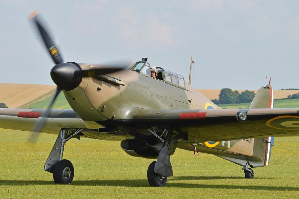 Un Hawker Hurricane restauré. (Photo Alan Wilson (CC BY SA 2.0 2))