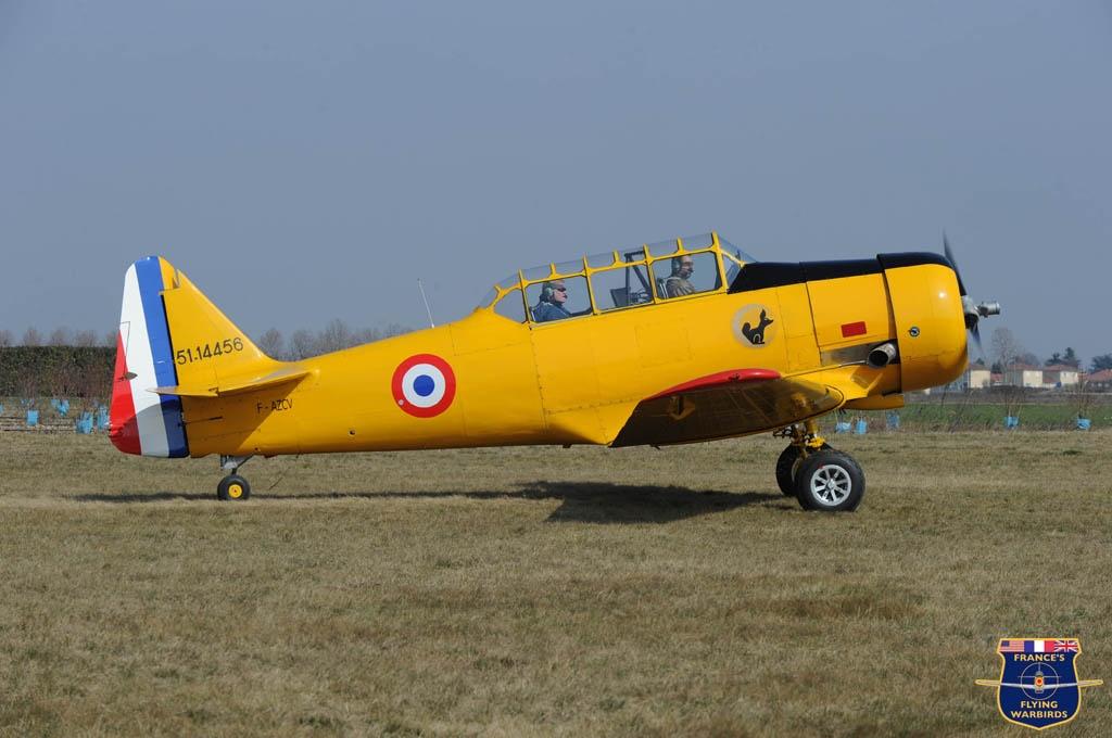 North American T-6G F-AZCV (Photo (C)Harald Ludwig - FFWM) 1