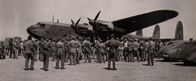 Ascalon, l'appareil personnel de Winston Churchill durant la guerre.