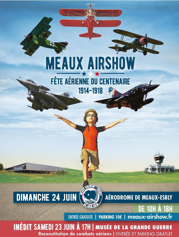 Meaux Airshow - Fête Aérienne du Centenaire - Edition 2018
