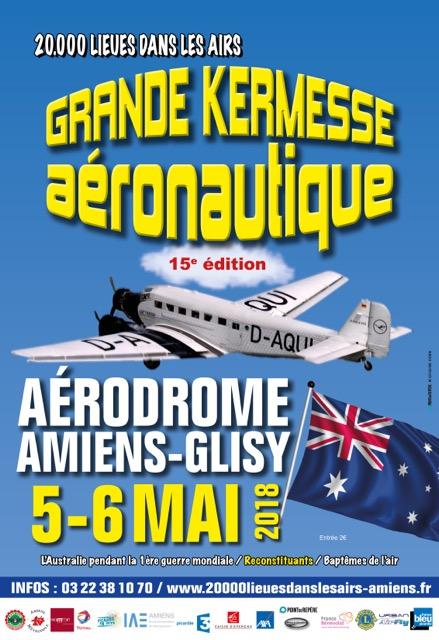 """15e Grande Kermesse Aéronautique """"20 000 lieues dans les airs"""""""