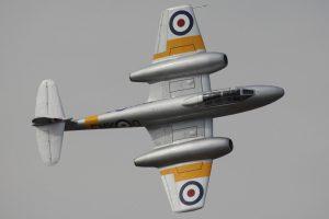 Le Gloster Meteor T.7 WA591 en 2012.Le Gloster Meteor T.7 WA591 en 2012.
