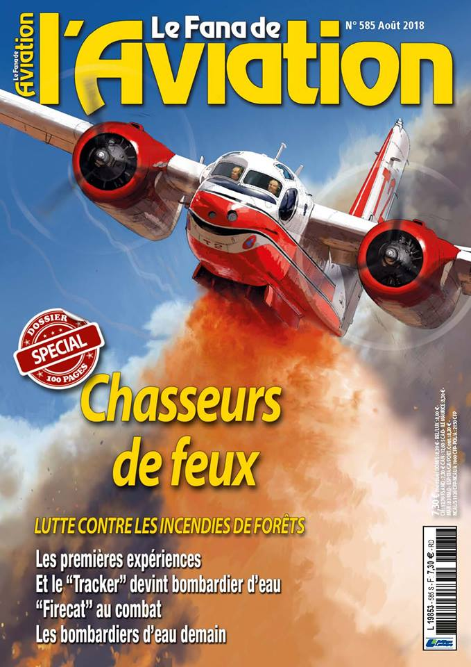Le Fana de l'Aviation n°585 – Août 2018