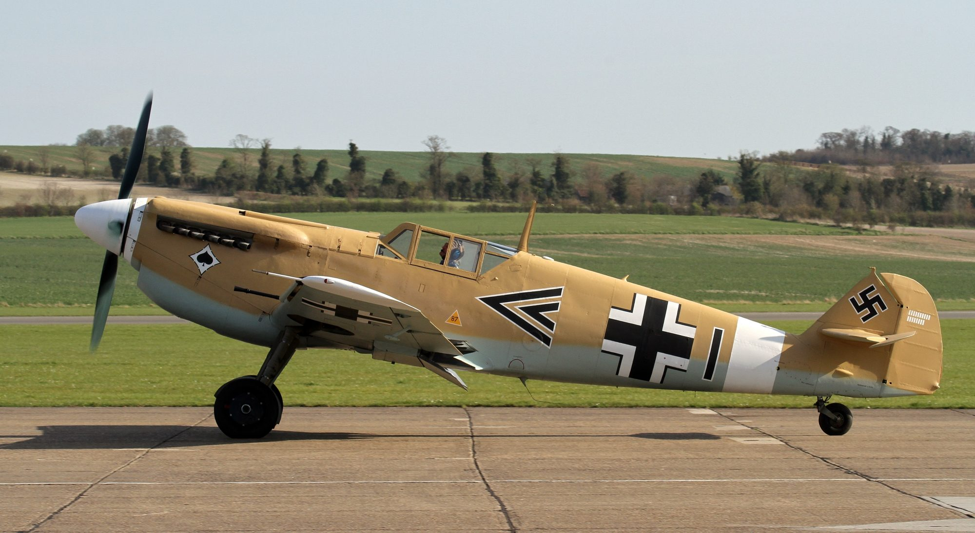HA-1112-M1L C.4K-31 G-AWHE (Photo © David Withworth)