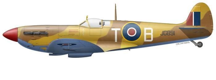 Spitfire Mk V JG891 G-LFVC © Gaëtan Marie