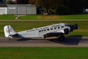 Le Ju 52 HB-HOT en 2017. (Photo Lutz Blohm (CC BY-SA 2.0))