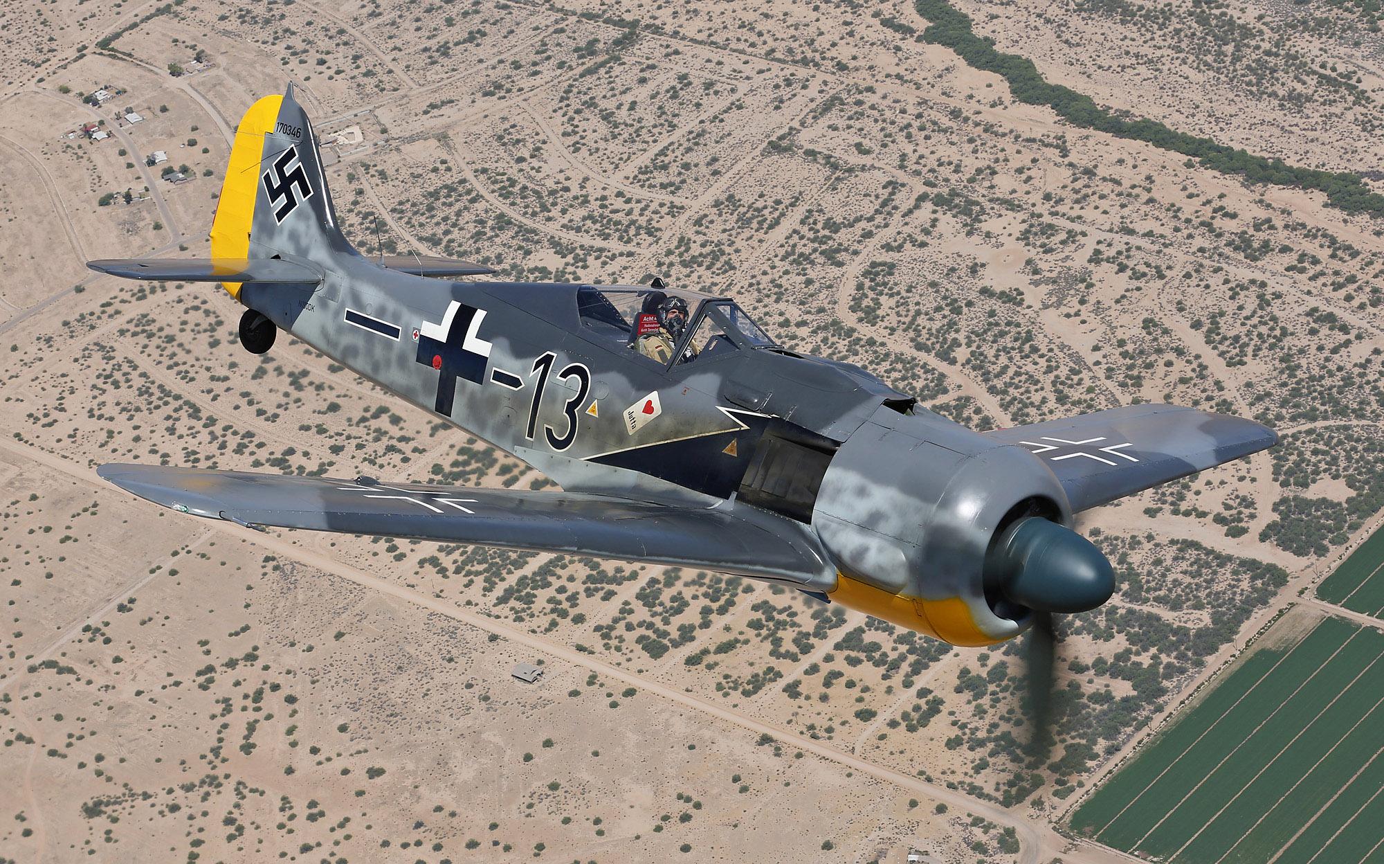 Fw 190A-8/N 990019 N190DK © Doug Fisher