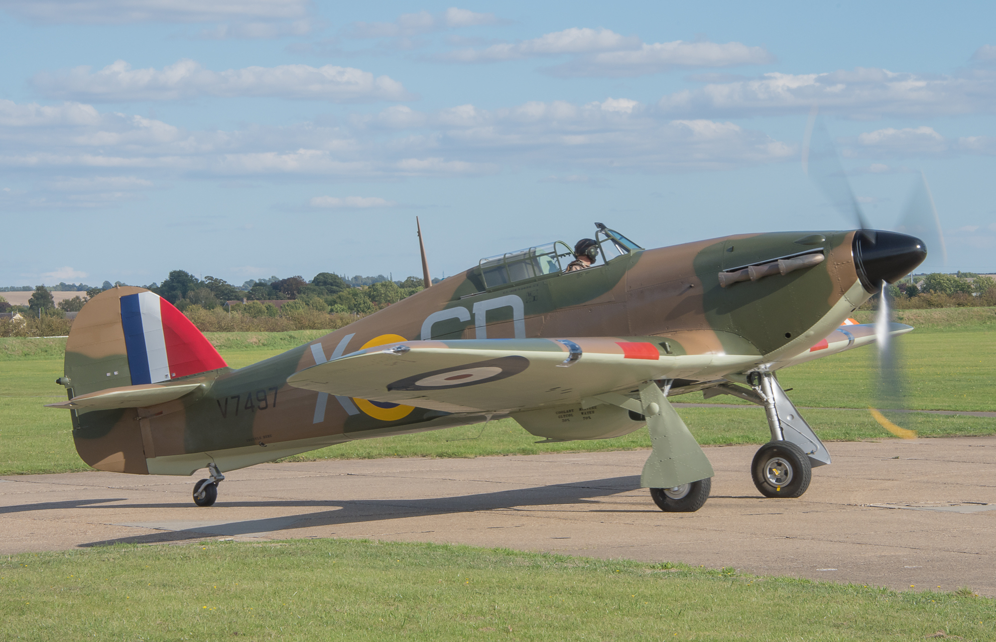 Hurricane Mk I V7497 G-HRLI © George Land