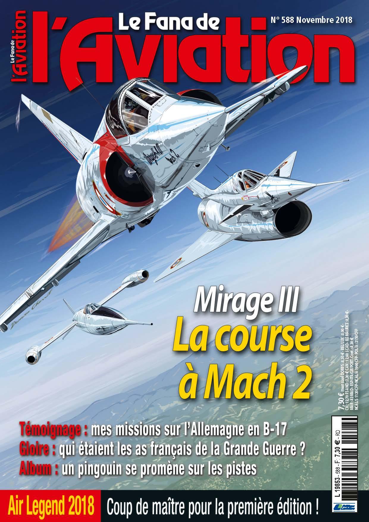 Fana de l'Aviation N°588