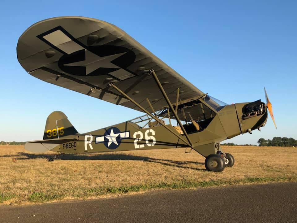 Piper L-4B 43815 F-BEGD © Romain Hugault