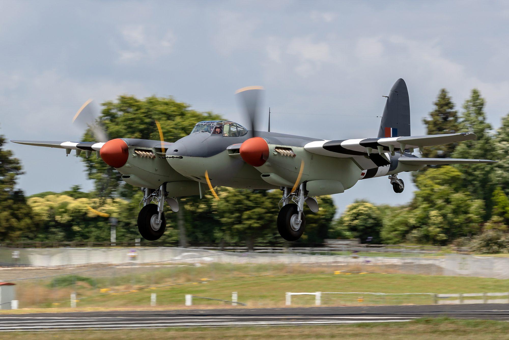 Mosquito B.VI PZ474 ZK-BCF © Stuart Russell