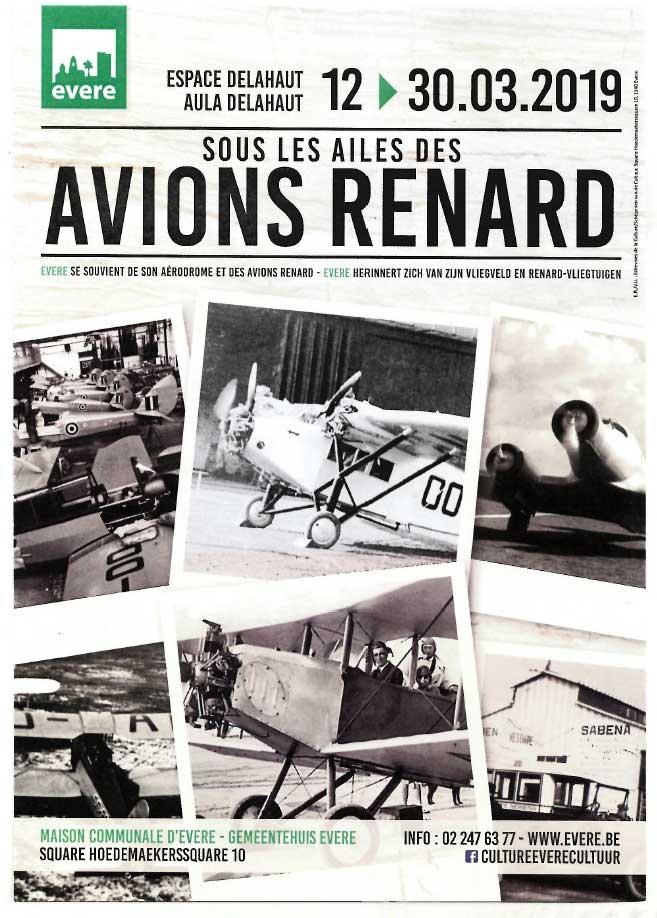 Sous les ailes des avions Renard
