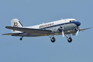 Le Douglas DC-3 HB-IRJ (Photo Alan Wilson (CC BY-SA 2.0))