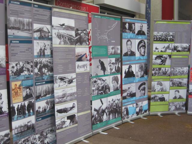 """Exposition temporaire """"Le Groupe de Chasse n°3 Normandie-Niemen des Forces Aériennes Françaises Libres"""""""