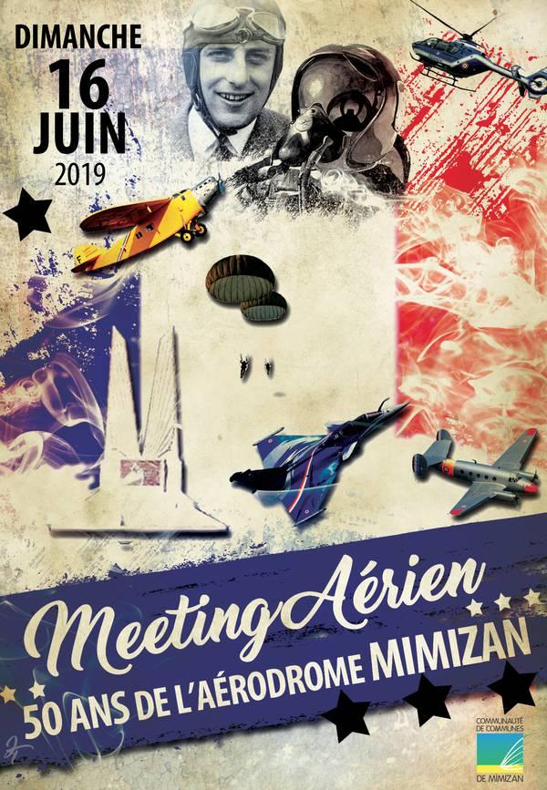Meeting aérien - 50 ans de l'aérodrome de Mimizan