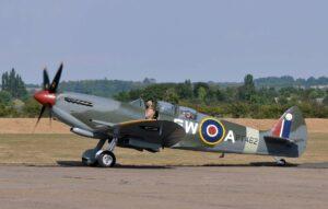 Spitfire TR Mk 9 PT462 lors du meeting Flying Legends 2018 (Photo © Jean-Pierre Touzeau)