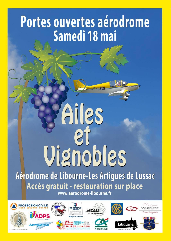 Ailes et Vignobles (Aérodrome de Libourne-Les Artigues)