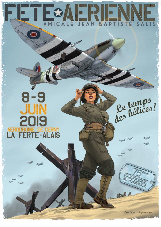 """Fête aérienne """"Le Temps des Hélices"""" 2019 (La Ferté-Alais)"""