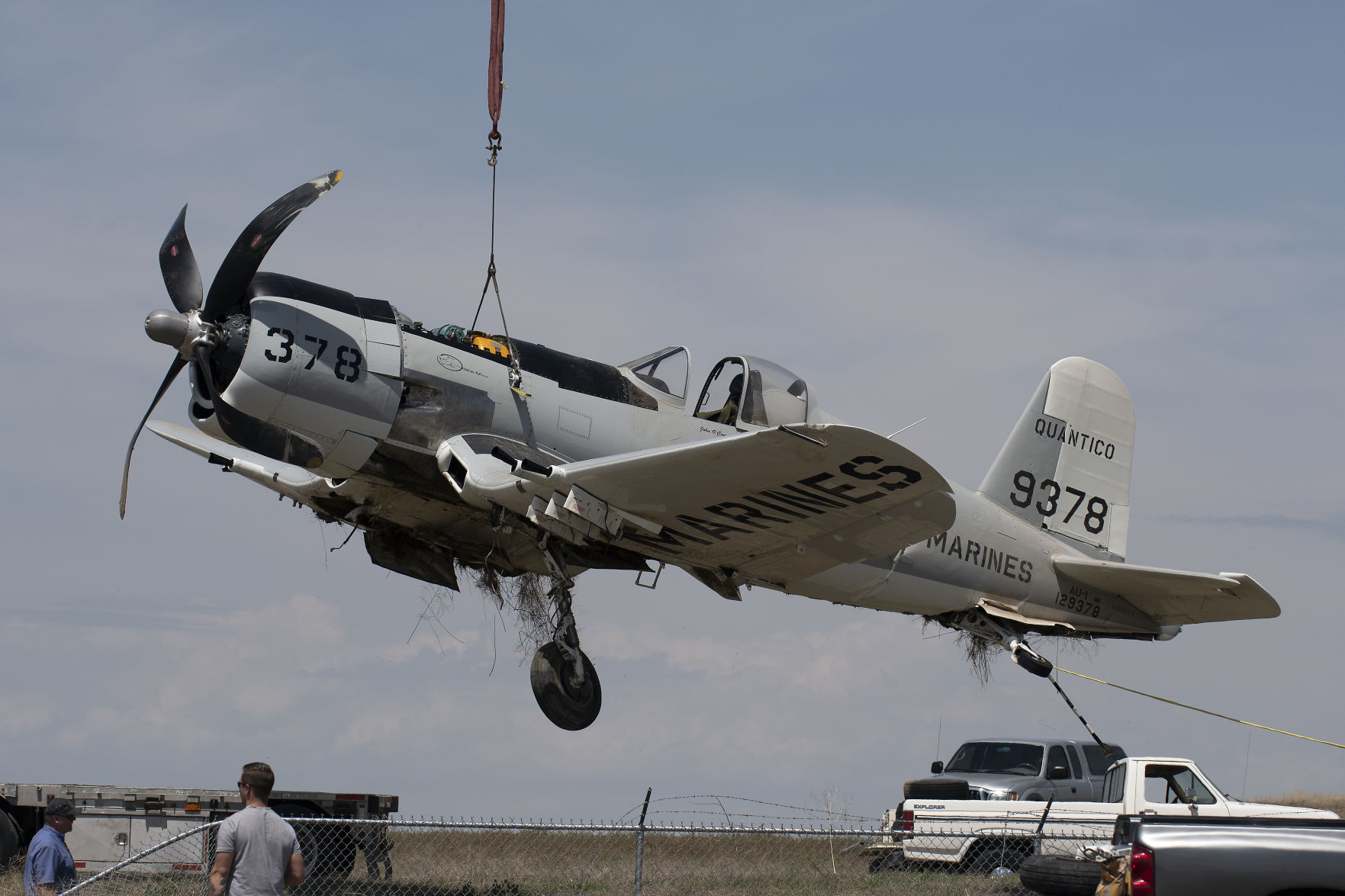F4U-7 Bu133710 N965CV ( Photo © Drew Nash - MAGICVALLEY.COM )