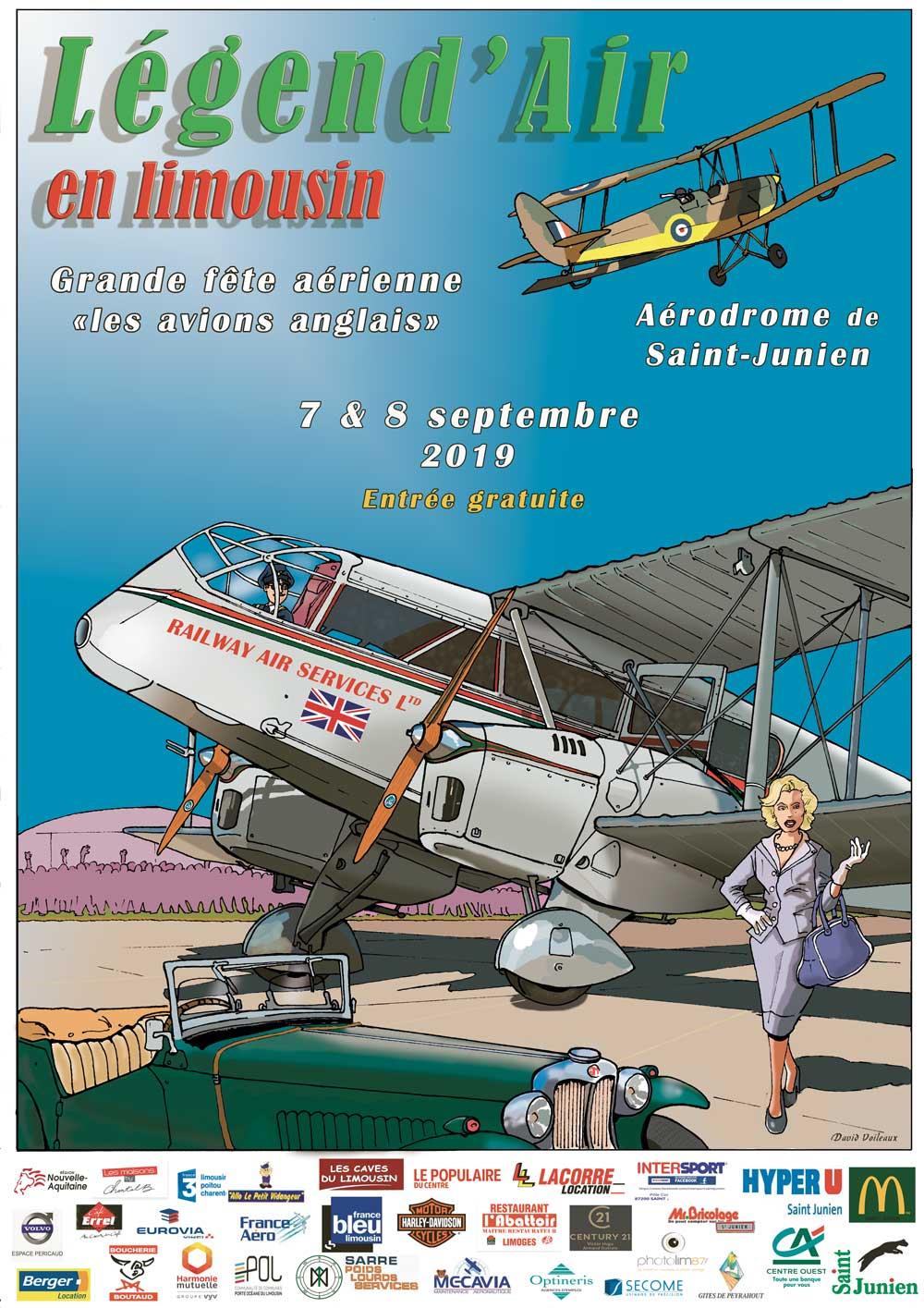 Légend'Air en Limousin 2019