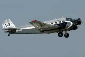 Le Junkers Ju-52 HB-HOS de JU-AIR en 2011 (Photo LFSB Plane Pictures (CC BY-NC-ND-2.0))