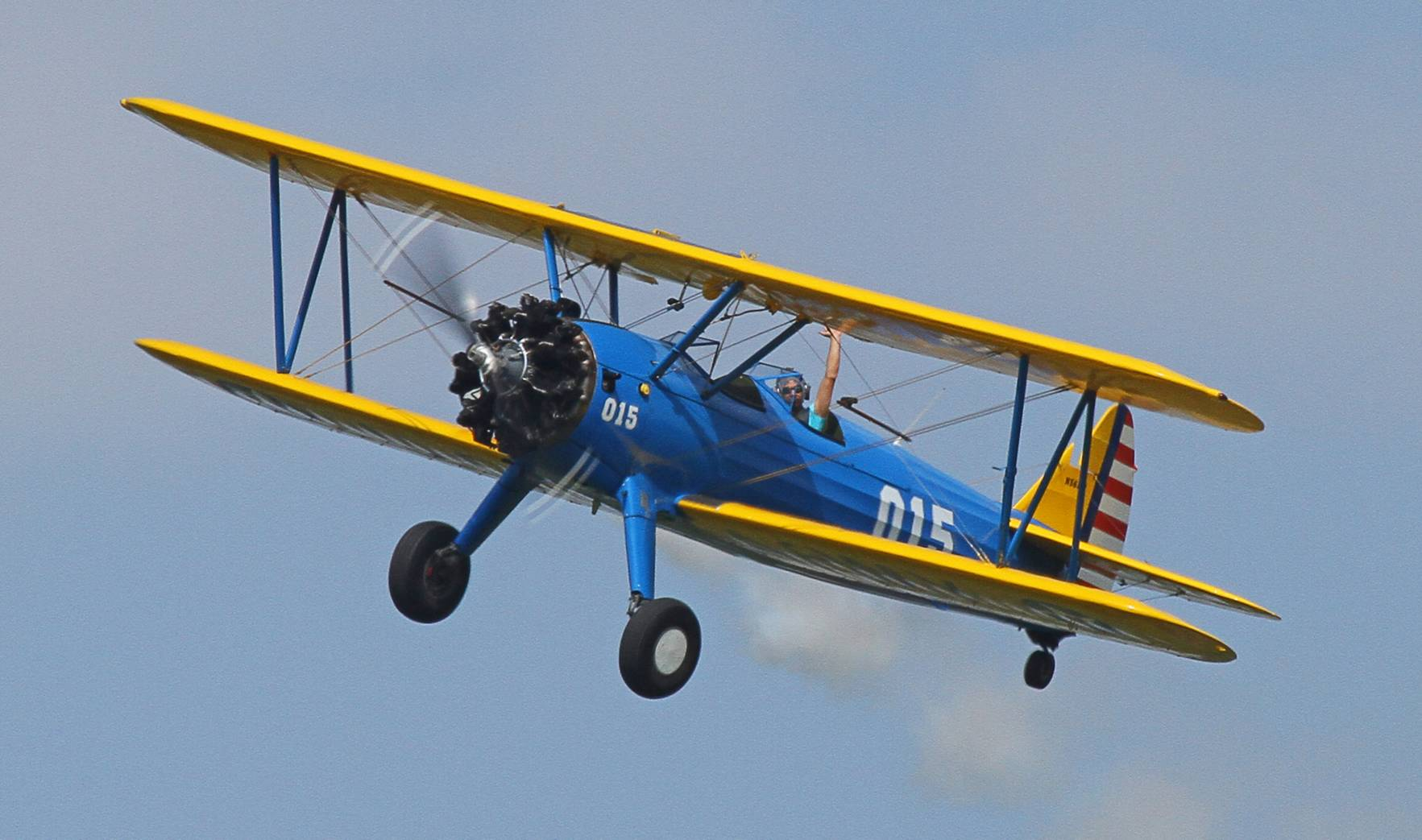 Le Boeing-Stearman PT-17 N56178 en 2012(Photo philippematon (CC BY-NC-ND 2.0))