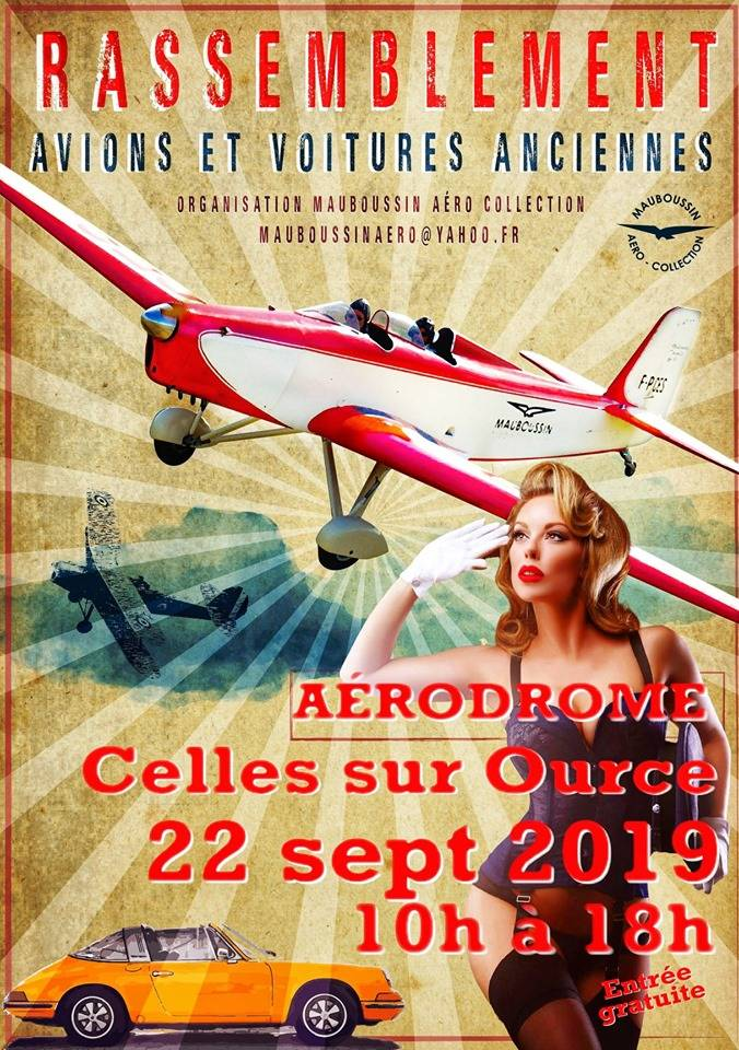 Fly-In 2019 Mauboussin Aero Collection