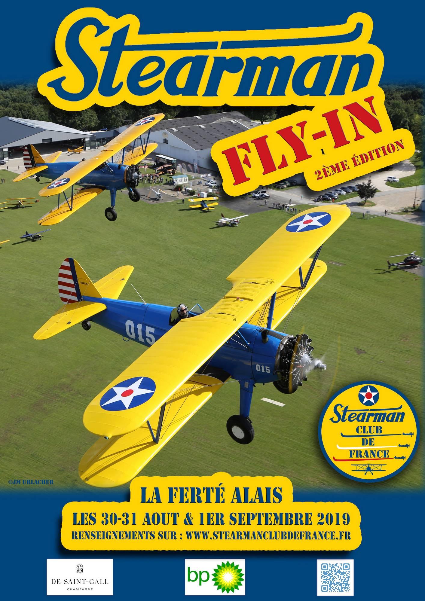 2ème Fly-In Stearman