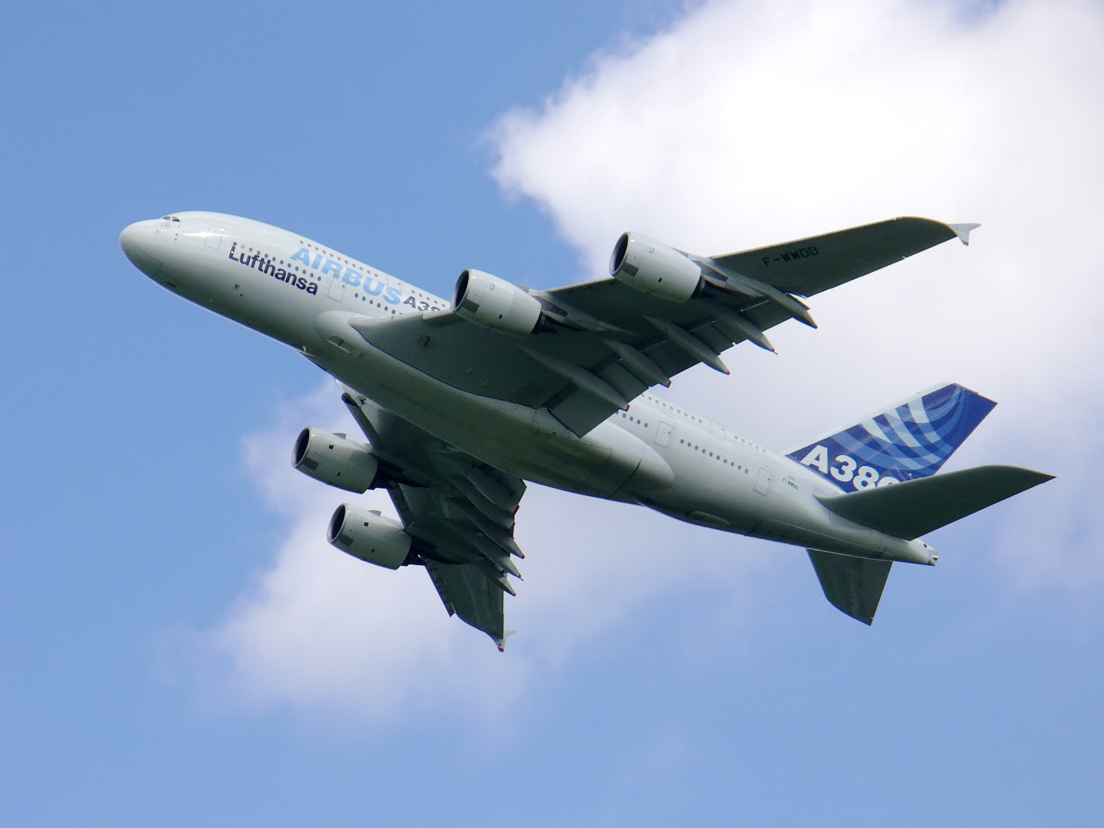 Un Airbus A380 à ILA 2006 (Photo Łukasz Golowanow (CC BY-SA 2.5))