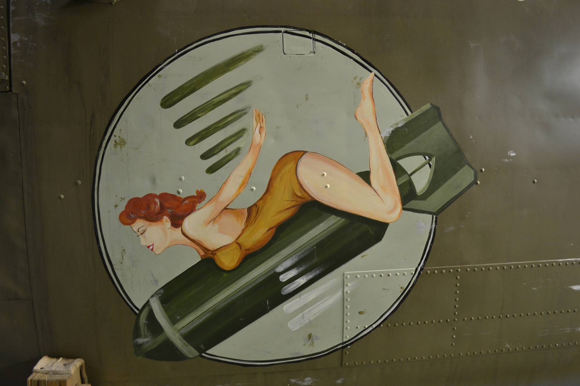 Nose art du B-25 Mitchell de la BAPA (Photo © BAPA)