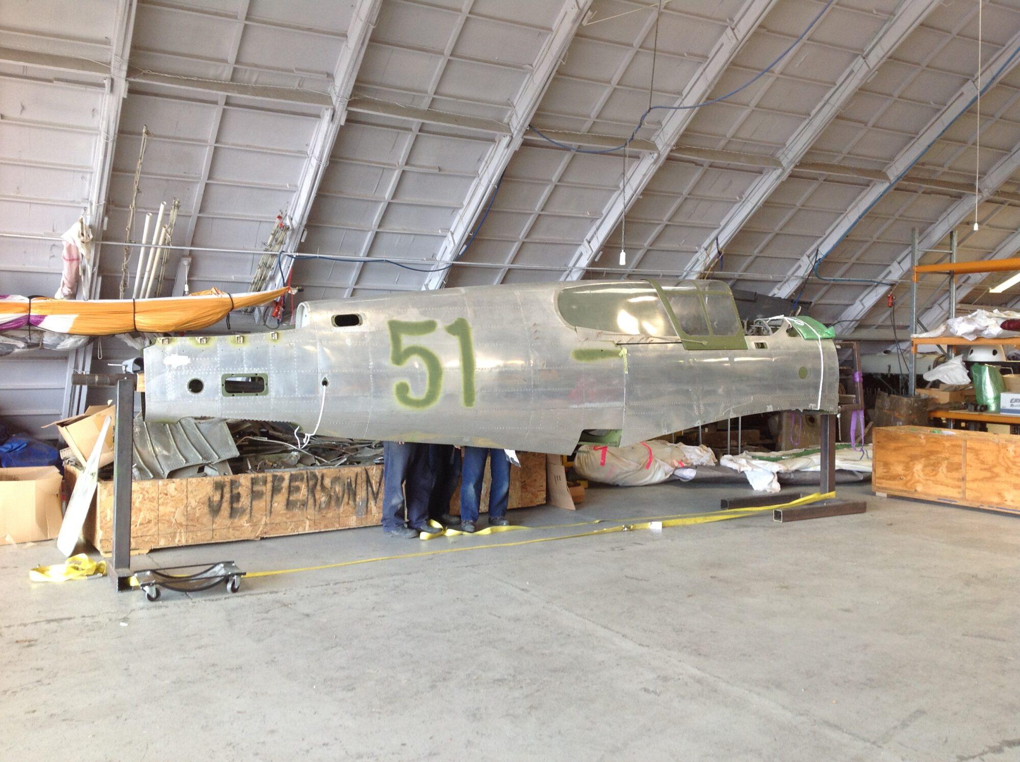 Curtiss P-40E 41-13570 ( Photo © Pioneer Aero Ltd )