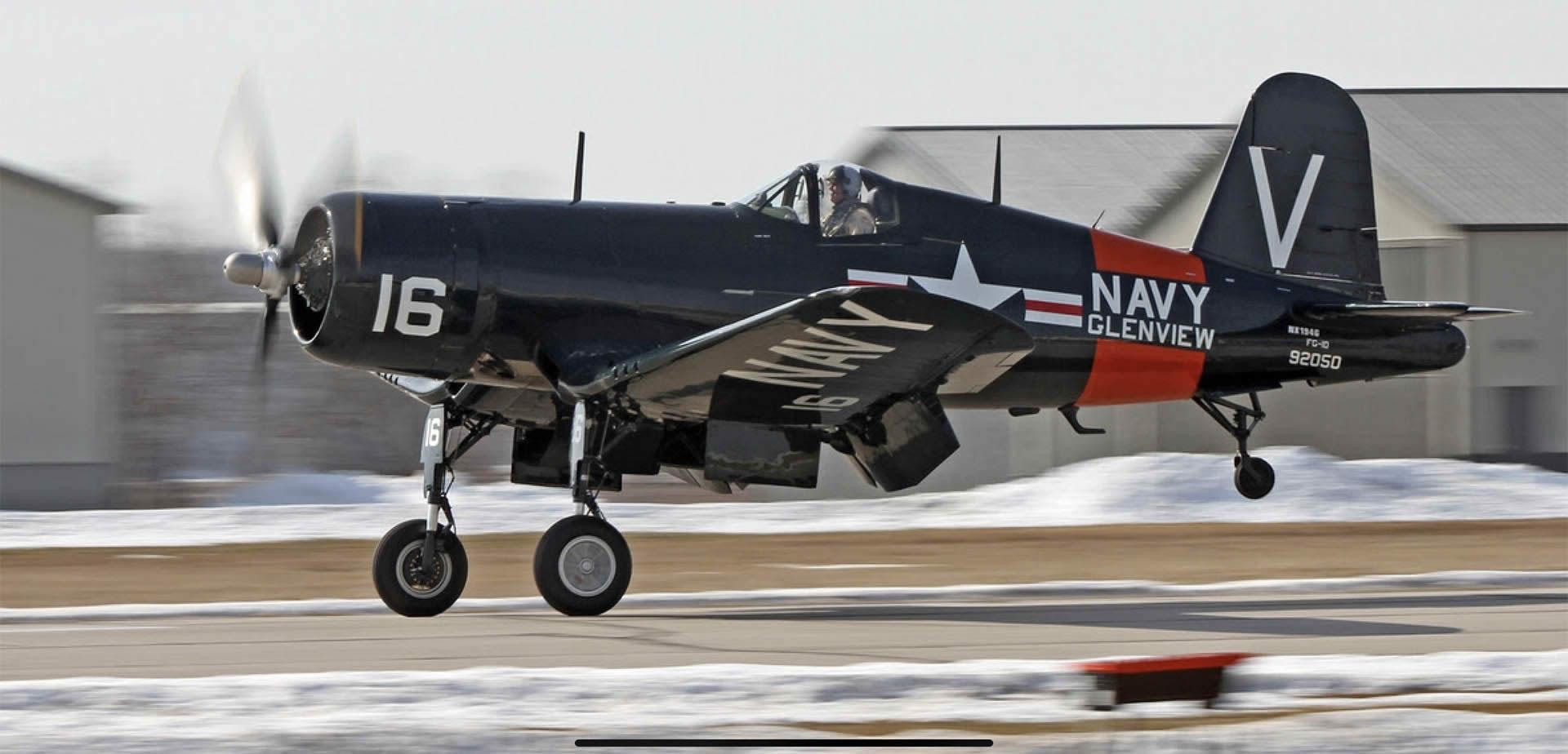 Goodyear FG-1D Bu 92050 ( Photo © Chris Wawro c/o Warbird Heritage Foundation )