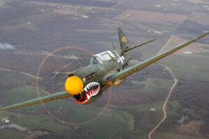 P-40N 42-104721 N293FR © Collings Foundation