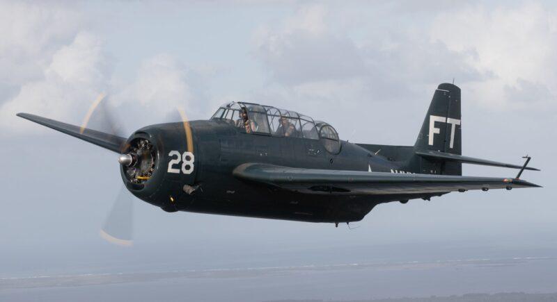 General Motors TBM-3E Avenger Bu91188 N108Q ( Photo Valiant Air Command, Inc. via Facebook )