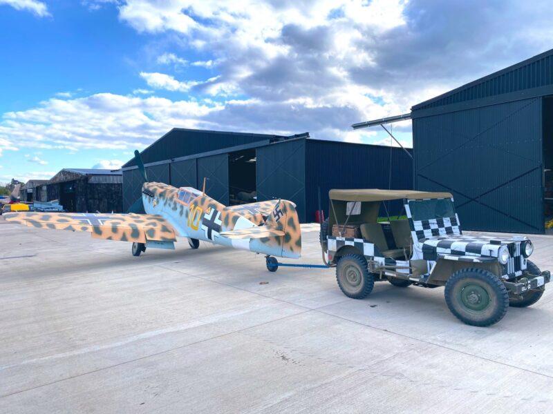 Hispano Aviación HA-1112 Buchón – C.4K-31G-AWHE ( Photo © Shoot Aviation via Twitter )