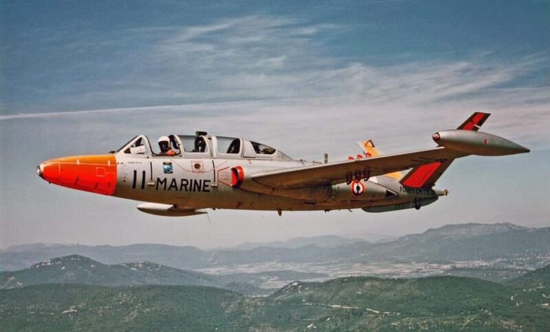 Fouga CM.175 Zépyhr n°11 ( Photo © AAP )
