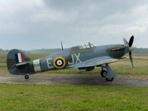 Hawker Hurricane KZ321 OO-HUR ( Photo © Letecké muzem Točná )