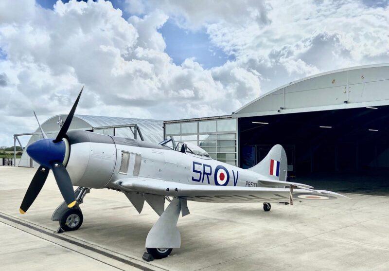 Hawker Tempest Mk II MW763 G-TEMT © Daisy Grace - Air Leasing Ltd