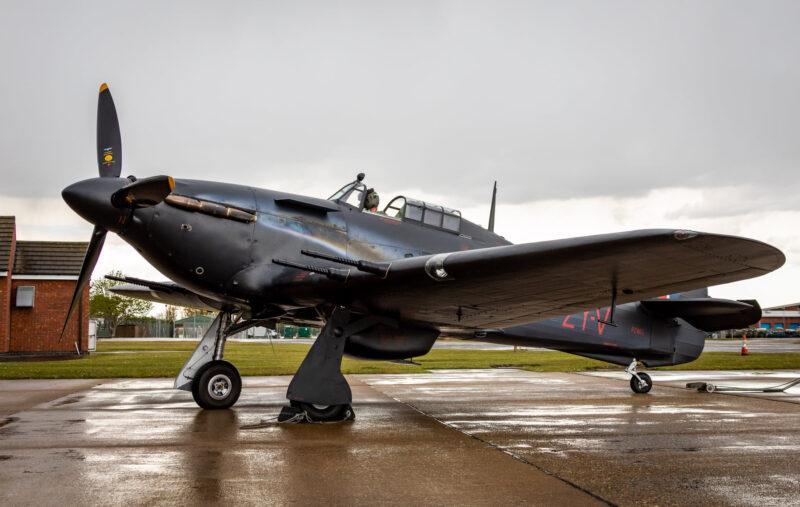 Hurricane Mk IIc PZ865 ( Photo © Facebook Battle of Britain Memorial Flight )