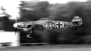 Bf 109G-6 D-FMBD ( Photo © Mieczysław Tyburski )