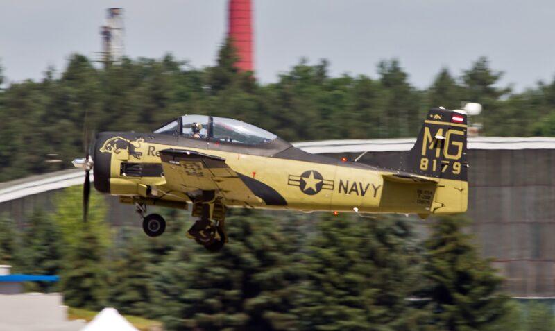 T-28B Bu138179 OE-ESA ( Photo © Pavel Vanka)